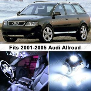 23 X Premium Xenon White Led Lights Interior Package Upgrade For Audi Allroad