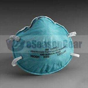 3m 1860s Small Size N95 Mask 120 pk Health Care Particulate Respirator