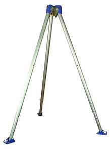 Falltech 7275 Confined Space Aluminum Tripod Adjustable To 6 11