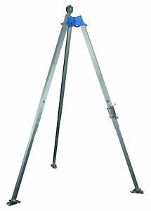 Falltech 7274 Confined Space Aluminum 7 Tripod With Bracket And Pulley