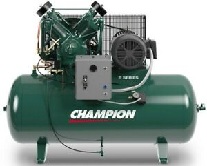 Champion Hr10 12 Advantage Series Compressor 10 Hp 3 phase 230 120 Gallon Tk