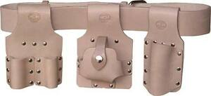 Scaffolding Tool Belt Set Premium Tan Leather Connell Of Sheffield Uk Made