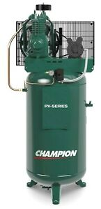 Champion Vrv5 6 5hp 1ph 60 Gallon 2 Stage Usa Made Best Seller 19 1cfm