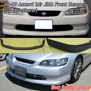 Oe Style Front Bumper Lip Urethane Fits 98 00 Honda Accord 2dr