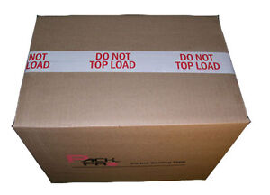 Do Not Top Load Preprinted Packing Tape 2 X110 Yards 9 Rolls