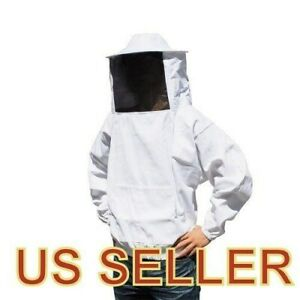 Hot Sale Heavy Duty Beekeeping Jacket bee Suit W Free Glove large us Seller