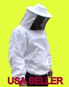 Sale Professional Beekeeping Jacket Veil Free Gloves xx Large us Seller