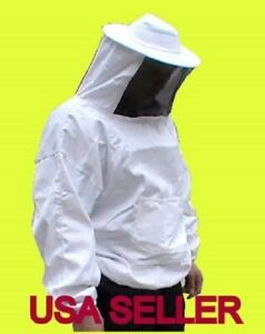 Sale Pro Beekeeping Smock Jacket Bee Suit hat Veil xx Large Size us Seller