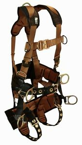 Falltech 7084l Tower Climbing Harness With Seat Back Support L