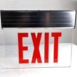 Aluminum Led Exit Sign With Backup Battery