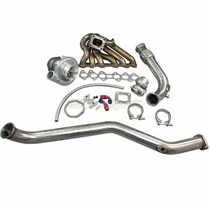 Cxracing Turbo Kit Manifold Downpipe For 93 02 Toyota Supra Mk4 2jz gte