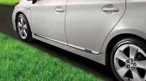 Toyota Prius 12 15 Bright Chrome Lower Body Door Moldings Genuine Oem Oe