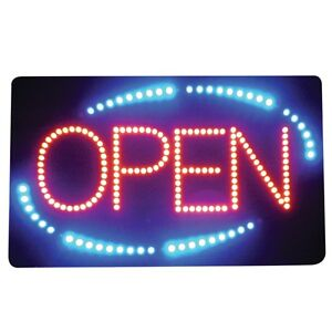 Led Open Sign Acrylic Rectangle
