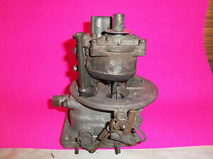 53 Lincoln First Holley Teapot Carburetor Mechanical Secondary Ead 9510 771 2