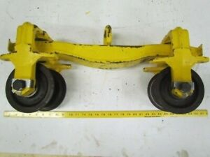 Hoist Push Beam Trolley For 3 3 8 Wide Straight Or Curved Beams