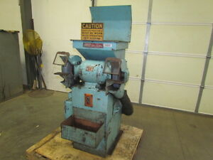 Standard Tool Co Model 101 12 2 Hp 1750rpm Pedestal Grinder W dust Collector
