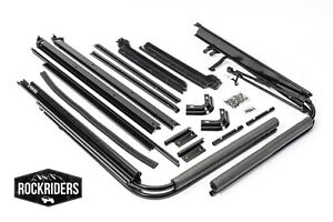 1988 1995 Jeep Wrangler Yj Soft Top Main Frame Mounting Hardware Channel Kit