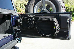 1997 2006 Jeep Wrangler Unlimited G E A R Tailgate Cover Kit Black 5662201
