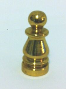 10967 1 Solid Brass Colonial Finial 1 4 27f Base