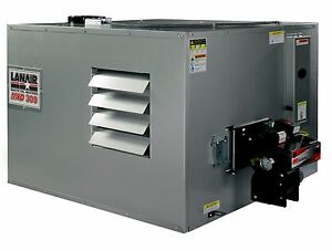 Waste Oil Heater furnace Lanair Mxd300 Ductable With Tank And Chimney Kit Sale