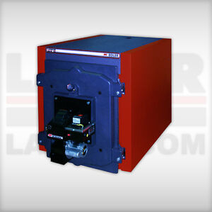 Waste Oil Fired Boiler heater Lanair Mxb 400 Cast Iron water Heater Cheap Heat