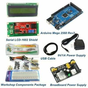Mega 2560 Rev3 Starter Package Kits With Lcd1602 Shield arduino Compatible