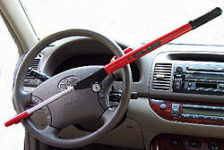 The Club Vehicle Anti Theft Devices Safety Security Auto Truck 1000 Red