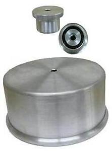 Aluminum Carburator Carb Cover Hat 1 4 Nut Combo Holley