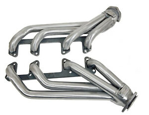 1964 Up Buick Skylark 300 And 340 V8 Plain Steel Block Hugger Exhaust Headers
