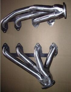 Big Block Ford Fe 352 428 1968 Up Ford Mustang Plain Steel Exhaust Headers