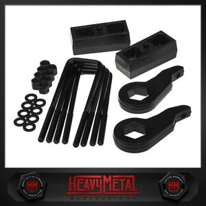 1999 2007 Chevrolet Silverado 1500 3 Front 3 Rear Forged Suspension Lift Kit