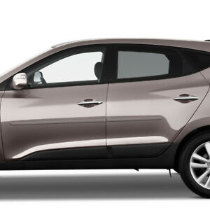 For Hyundai Tucson All Models Painted Body Side Mouldings 3m Tape Trim 2007 2015