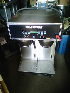 Bloomfield Dual Automatic Coffee Maker Ss2 ad Must Sell Send Any Any Offer