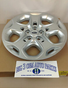 2010 2011 Ford Fusion 17 5 Lug Silver 5 spoke Wheel Cover Hub Cap Oem New