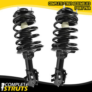 91 96 Ford Escort 2 Front Quick Complete Struts Coil Spring Assembly Pair