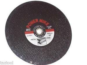 25 Pc Chop Saw Cut Off Wheels 14 Set Of For Metal Tool