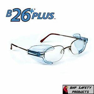 20 Pair B26 Side Shields For Rx Glasses Safety Eyewear Eye Protection Z87 1