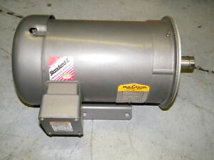 Baldor Ac Motor 2 Hp Cm3614t 230 460v Gearbox 1160rpm New old stock
