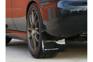 Rally Armor Ur Black Mud Flaps Flap W White Logo For 08 10 Wrx