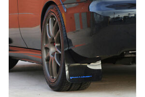 Rally Armor Ur Black Mud Flaps Flap W Blue Logo For 08 10 Wrx 08 11 2 5i