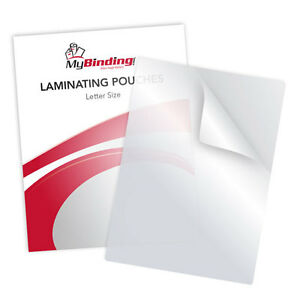 New 10mil Letter Size 9 X 11 5 Laminating Pouches 100pk Free Shipping
