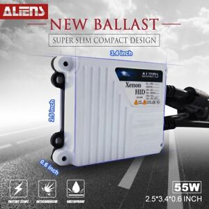 One New Xenon Hid Super Slim Conversion Kit Digital Ballast 55w