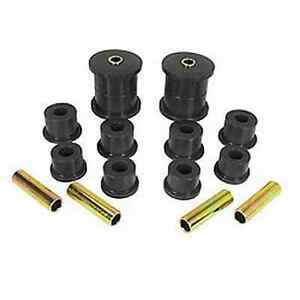 Prothane Jeep Xj Cherokee Comanche 84 99 Rear Spring Eye Shackle Bushing Kit