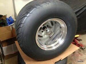 1 15x12 Grey Salt Flat American Racing Ford Dodge Mopar Chevy Custom Bilt