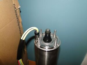 New Goulds 1 Hp 1 Phase 4 Centripro Submersible Pump Motor 230v M10412