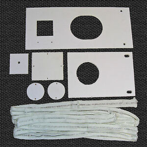 Waste Oil Heater Parts Lanair Mx 250 300 Combustion Chamber Gasket Kit Tune Up