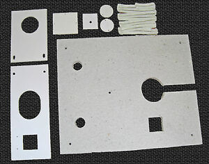 Waste Oil Heater Parts Lanair Mx 250 300 Combustion Chamber Gasket Kit W board