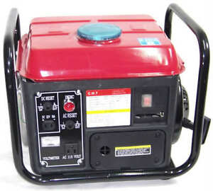 New 1200 Portable Gasoline Electric Power Generator Gas Cmt