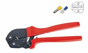 0 5 2 5 Mm2 20 14awg Terminal Crimper For Insulated Cable End sleeves
