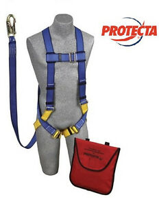 Protecta Ab17533 Kit Includes Harness Along With Shock Absorbing Lanyard
